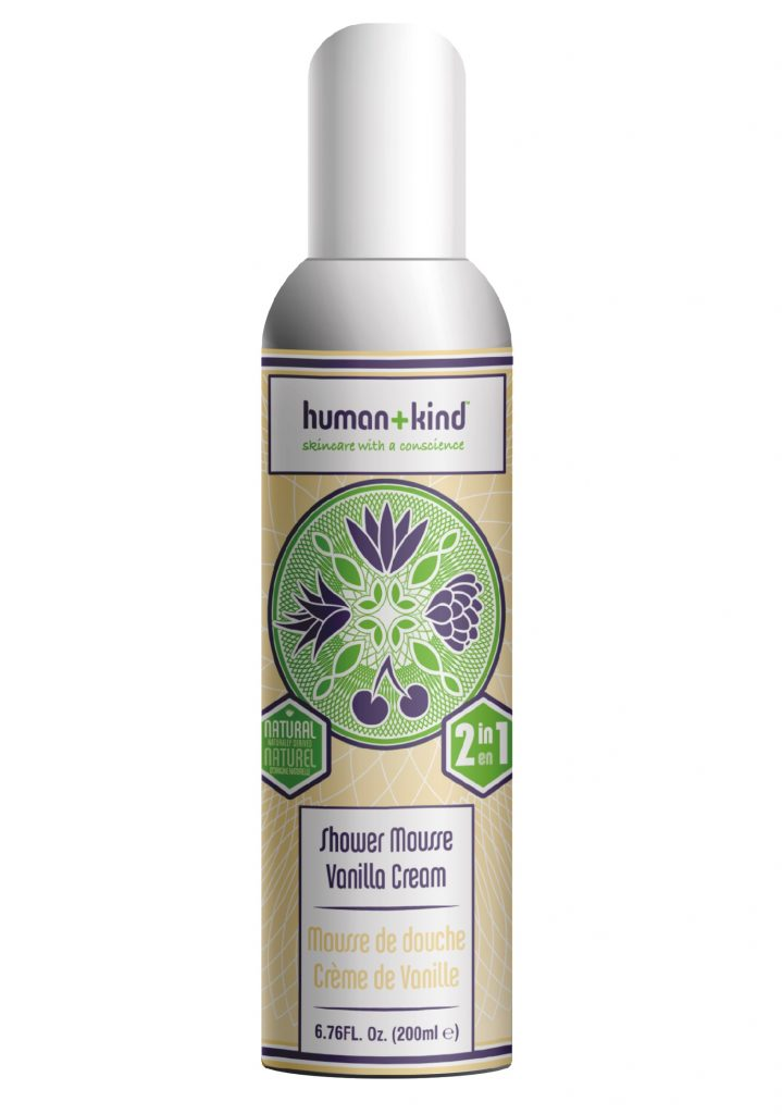 Human+Kind Shower Mousse Vanilla Cream