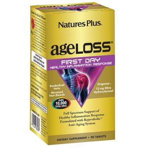 Natures Plus Ageloss First Day Healthy Inflammation Response